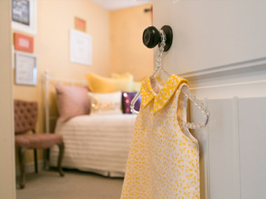 Interior design of a child's room