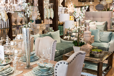 Personal Shopping decorating for clients