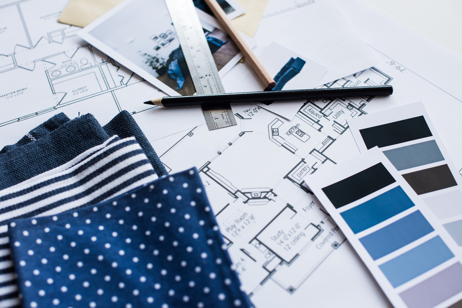 Design Consultation Renovation Plans for color & fabric options